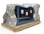 Branogel dehydratiezakjes die de vochtige lucht in een verpakking absorberen